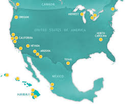 map of us vacation spots shell vacations club timeshares vacation ownership resorts