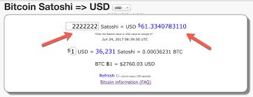 To Usd What Is Satoshi Satoshi To Btc Usd Converters