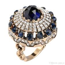 big stones rings images Luxury big natural stone ring vintage crystal antique rings for jpg
