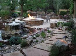 Low Maintenance Backyard Ideas 53 Incredibly Fabulous And Tranquil Backyard Waterfalls Low