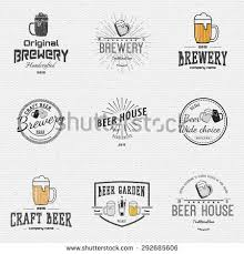 large set bakery bread shop logos stock vector 227102752