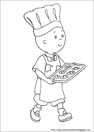 Caillou Coloring Pages Sprout Family Free Printable For Kids Sprout Coloring Pages