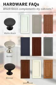 what hardware looks best on black cabinets which cabinet hardware finish will match my cabinets