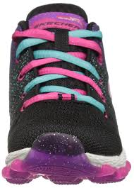 skechers kids girls skech air ultra 80014l sneaker black multi