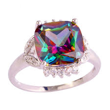 stone rings design images Sjae031 sj single stone rings design big rainbow gemstone brass jpg