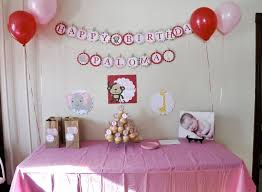 baby birthday ideas baby birthday decoration ideas house decorations and furniture