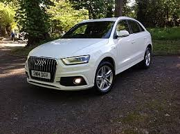 audi northern dealers audi q3 2 0 tdi 177 quattro s line 5dr s tronic with only 25k