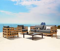 Outdoor Mobel Set Tribu Garden Furniture Made To Fit The Space Archi Living Com