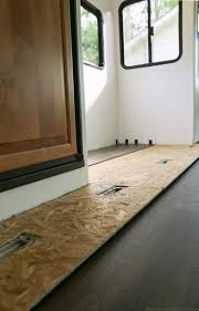 How To Fix Loose Laminate Flooring 104 Best My 5th Wheel Redo Images On Pinterest Travel Trailers