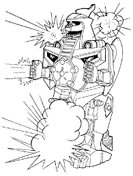 dragon zord colouring pages coloring