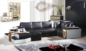 Contemporary Leather Sectional Sofa by 2314 Contemporary Leather Sectional Sofa