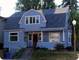 Dutch Colonial House Plans Blue Dutch Colonial House North Historic District Of Tacom U2026 Flickr