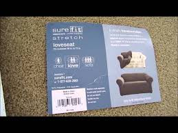 Sure Fit Slipcovers Review Review Surefit Furniture Cover And Give Your Sofa Or Loveseat A