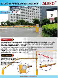 automatic driveway gate and road barrier alekoproducts