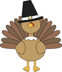 turkey wearing a pilgrim hat free clipart from mycutegraphics clip