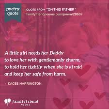 father poems from children