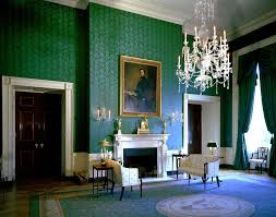 Blue Rooms by White House Rooms Blue Green Red Rooms John F Kennedy