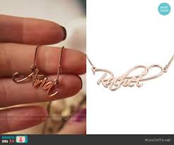 gold script name necklace script name necklace gold and personalized necklace