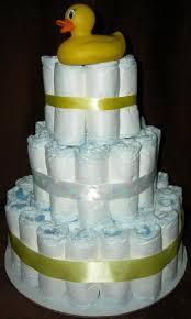 Diaper Cake Bathtub 3 Tier Neutral Diaper Cake From Premier Diaper Cakes In Ocala Fl