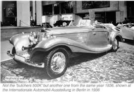 mercedes 500k mercedes 500k spezial roadster pearl burried for more than 30