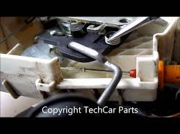 mercedes w169 w164 w245 door lock actuator repair youtube