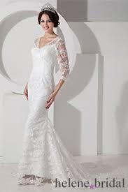 lace 3 4 sleeve wedding dress the shoulder 3 4 sleeves wedding dresses tea length
