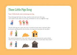 pigs song free early u0026 primary teaching