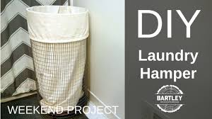 Container Store Laundry Hamper by Diy Laundry Hamper Youtube