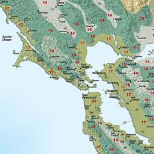 Gardening Zone By Zip Code - sunset climate zones san francisco bay area and inland sunset