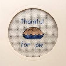 how to make a cross stitch card for thanksgiving