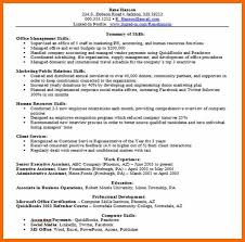 Resume Skills Section Sample by Resume Skill Section 48 Template Billybullock Us
