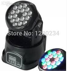 american dj led lights wholesale american dj led lights 18 3w rgb 3 in 1 led mini moving