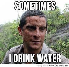 Meme Bear Grylls - confession of bear grylls