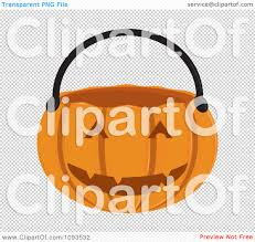 halloween clip art with transparent background clipart halloween pumpkin basket 2 royalty free vector