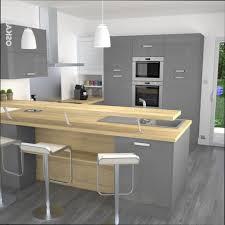 plan de travail cuisine gris cuisine grise plan de travail bois moderne cuisine gris et bois