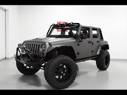 black jeep wrangler unlimited 2014 jeep wrangler unlimited sport supercharged for sale in tempe