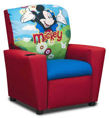 mickey mouse chair covers kidz world disney s mickey mouse kids recliner