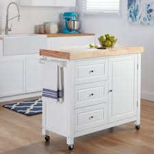 kitchen island or cart rubberwood kitchen island cart free shipping on orders