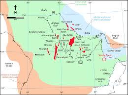Map Of Oman Fig 1 Field Scale Geometries Of Upper Khuff Reservoir Geobodies