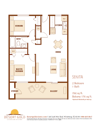 2 bedroom 1 bath floor plans desert gold condominiums floor plans