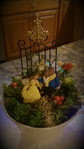 beauty and the beast mini teacup garden crafts pinterest
