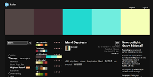 Website Color Schemes 2016 Five Amazing Color Palette Generators Readwrite