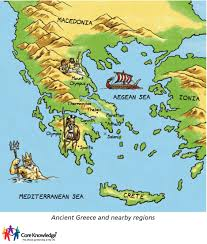 Greece Maps Map Of Ancient Greece Http Www Coreknowledge Org Uk Images