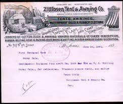 Awnings St Louis Mo Tent U0026 Awning Co 1891 St Louis Missouri Nice 129 Jpg