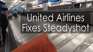 United Bag Policy by United Airlines Fixes My Sony A6500 Steadyshot Issue Youtube