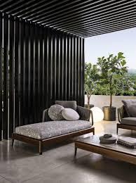 Italian Furniture Brands Minotti New Project For Outdoor - Italian outdoor furniture