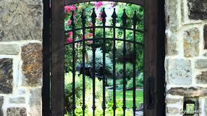 secret garden entrance ideas youtube