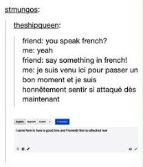 Meaning Of Meme In French - 17 hilarious tumblr posts for people who took french in school