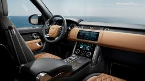 Classic Range Rover Interior 2018 Range Rover Comfier Seats More Power Updated Dual Screen