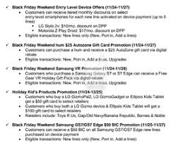 best black friday retail deals 2016 verizon u0027s black friday deals leak sales start on thanksgiving day
